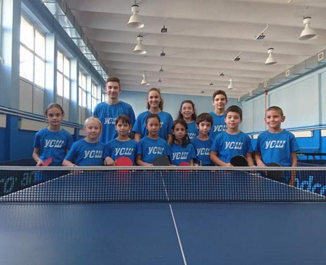Коледен турнир по тенис на маса на УСШ Русе