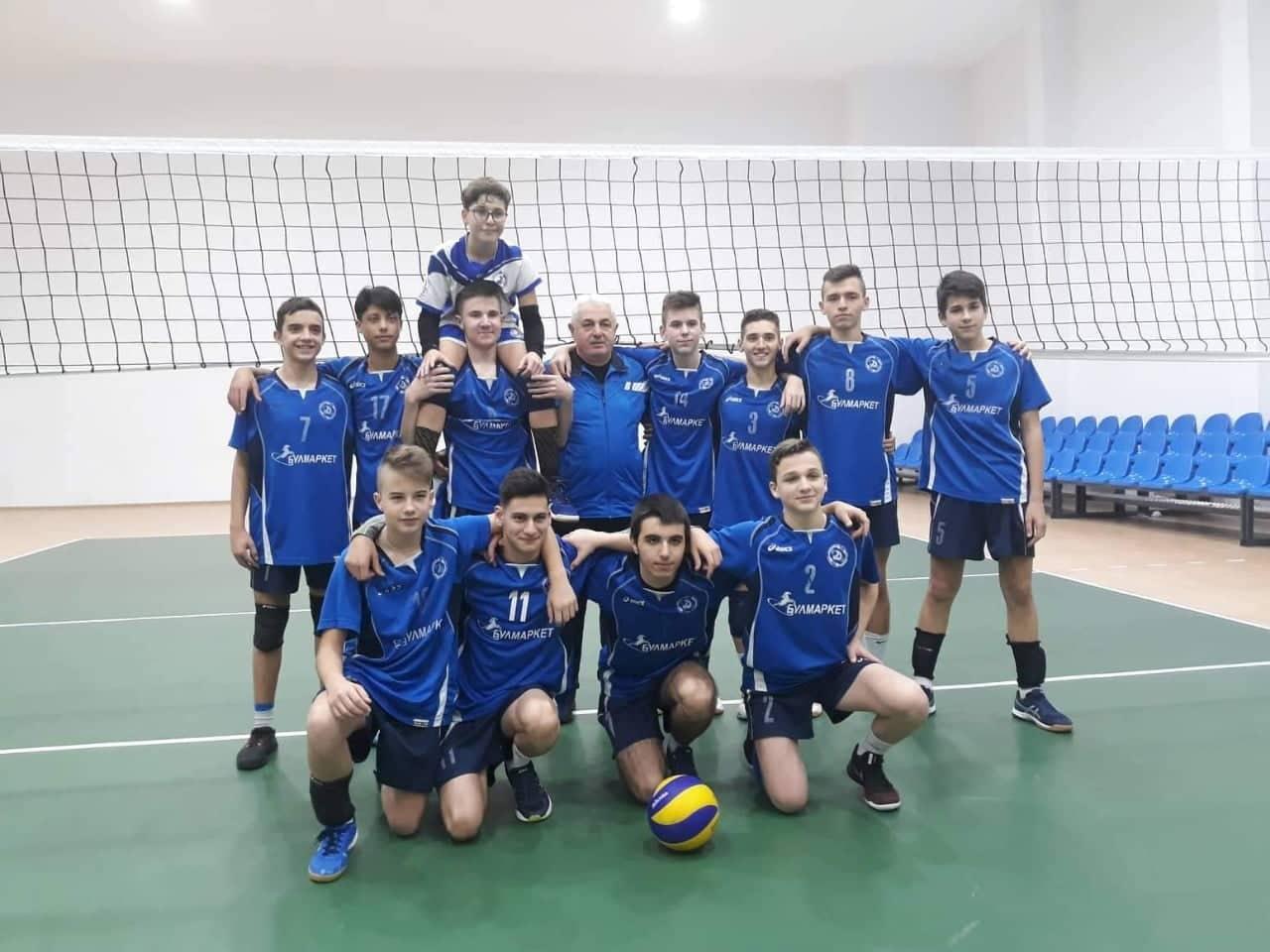 Коледен турнир по волейбол на Ученическа спортна школа 1