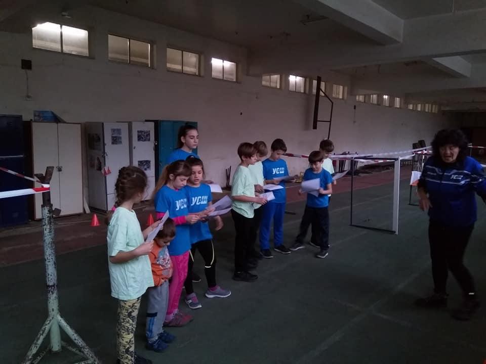 Коледен турнир по спортно ориентиране УСШ- Русе