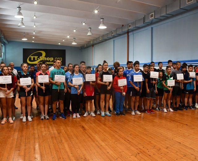 тенис на маса ученически игри 2019