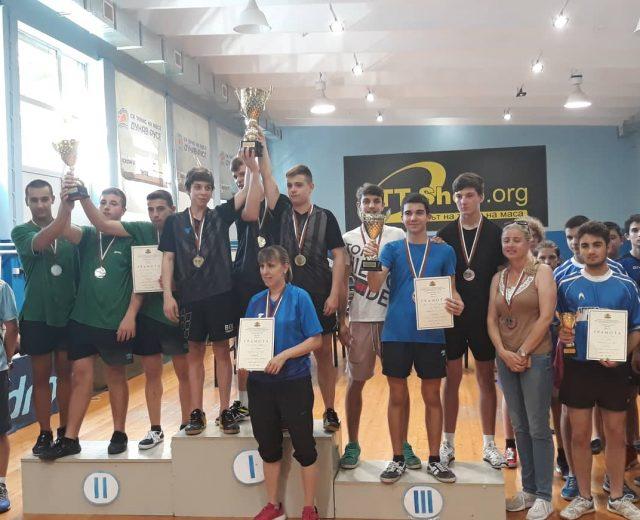 Ученически игри - финали по тенис на маса за ученици VIII - X клас