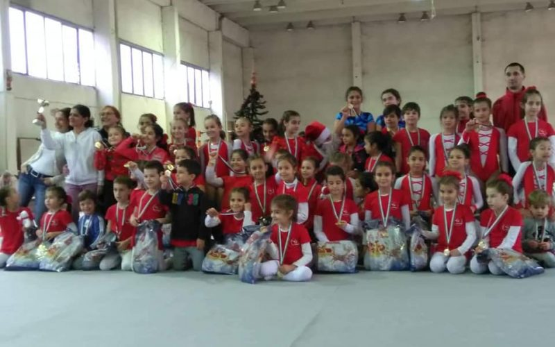 Коледен турнир по спортна гимнастика организира УСШ